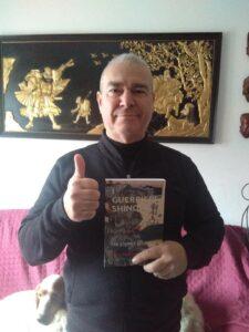 Sensei Alberto Bergamini, coautore del libro.